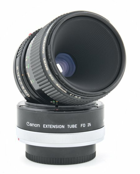 Canon FD 50mm f/3.5 Macro Lens Review