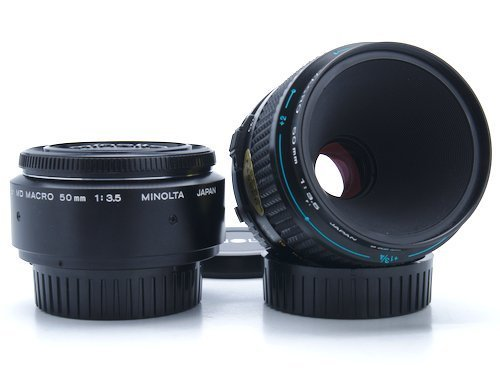 Minolta MD 50mm-f/3.5 Macro Lens Review