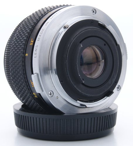 Rear Element of the Olympus OM Lens Mount
