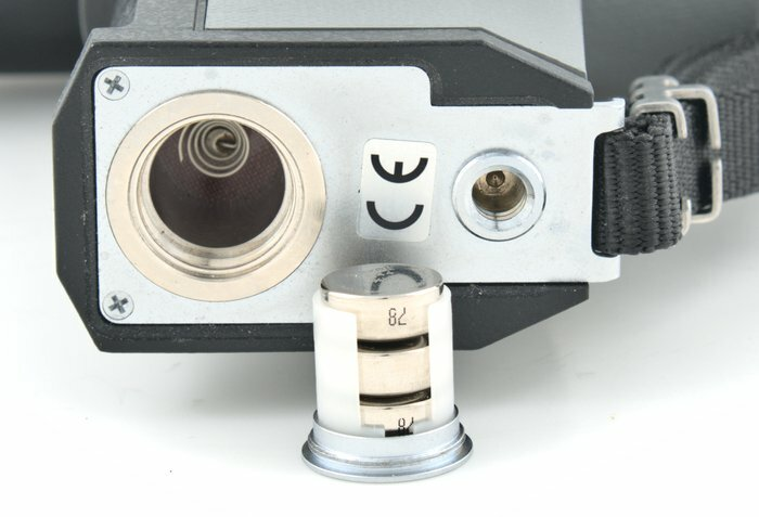 Pentax Spotmeter V Battery Compartment and Tripod Threads