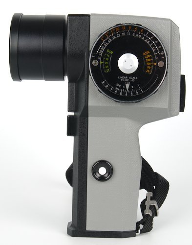 Light Meter Side Showing EV Scale to Calculate Exposure.