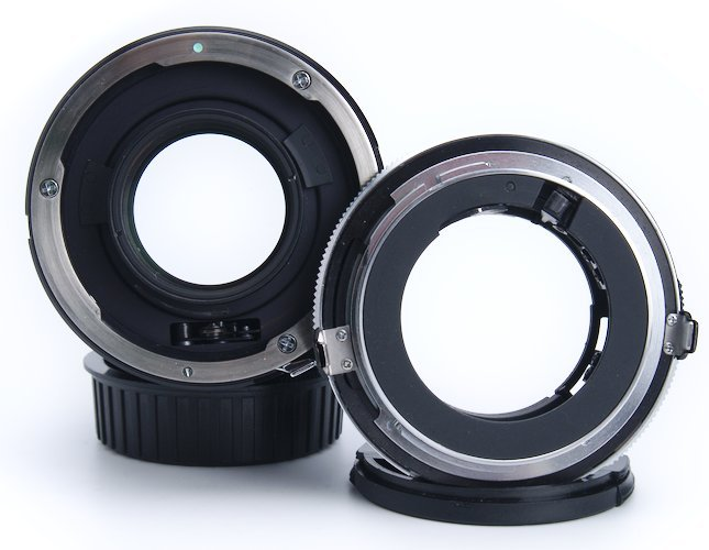 Adaptall Lens Mount Adapter Removed From Lens