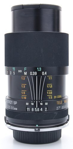 Focus Ring, Aperture Ring, Focus Distance Scale, and Magnification Scale.