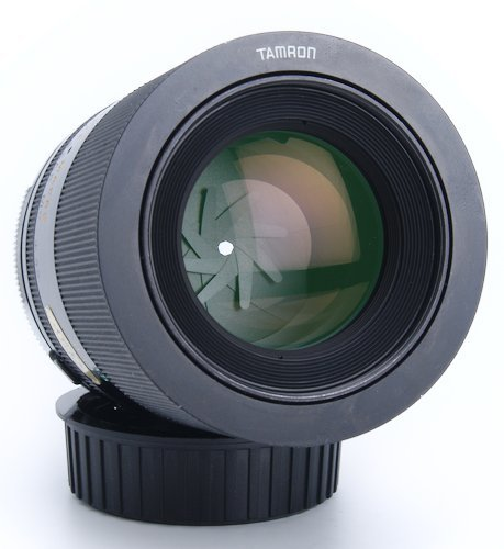 Front Element of Macro Lens and Aperture Blades