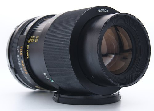 Macro Lens Extended to 1:2 Magnification