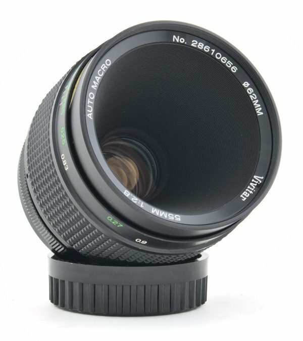 Vivitar 55mm f/2.8 Macro Lens Review