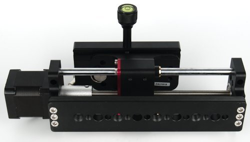 """Bottom of Focus Rail with 1/4"""" and 3/8"""" Mounting Holes"""
