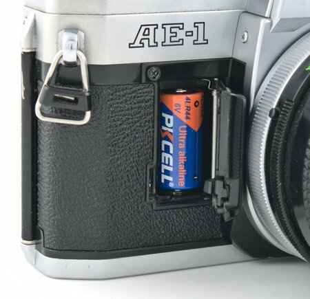 Canon AE-1 Battery 4LR44