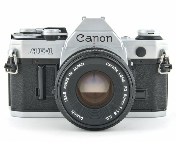 Canon AE-1 Camera SLR