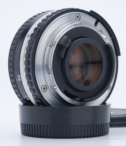 Rear Element and Nikon F Lens Mount