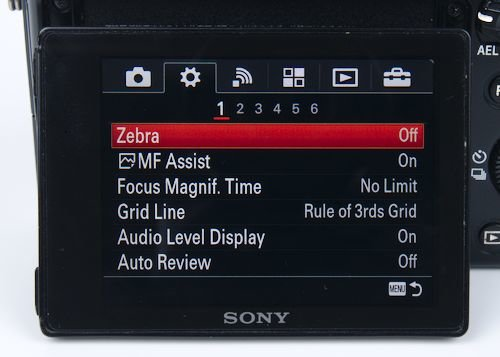 Zebra Stripes for Photo and Video
