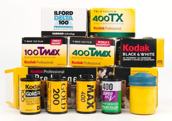 Rolls of 35mm Film