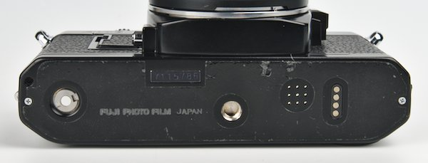 Bottom with Port for Auto Winder X and Tripod Mount