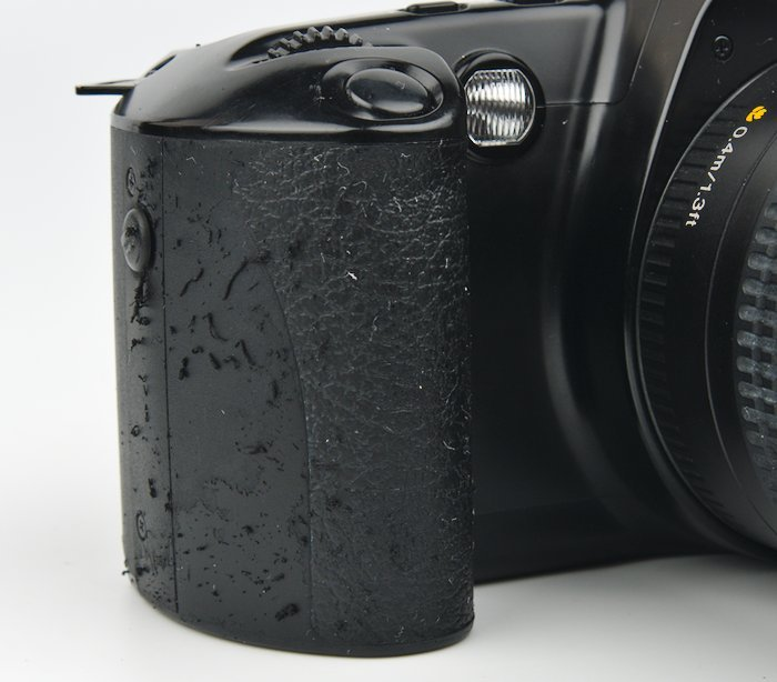 Rubber Coming off of the Rebel XS  Grip