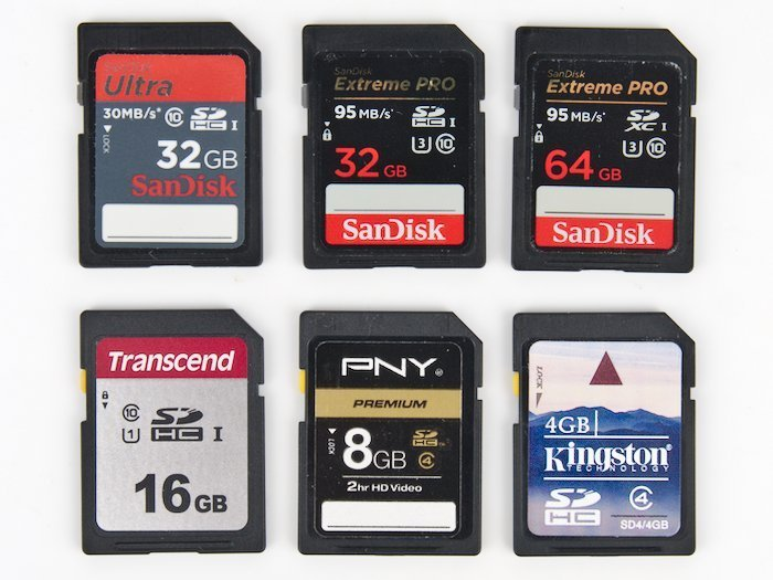 Nikon SD Memory Cards Compatibility
