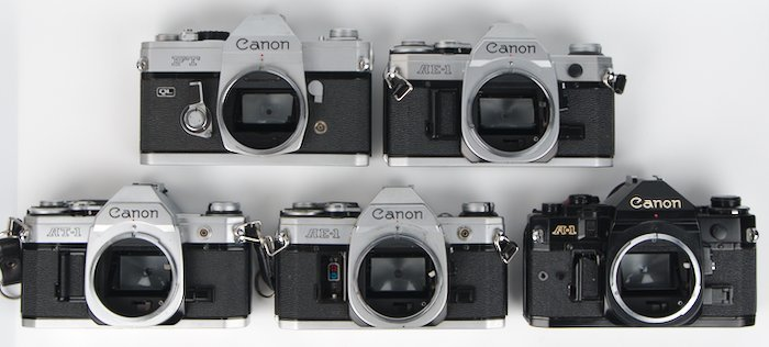 Camera that use Canon FD lenses