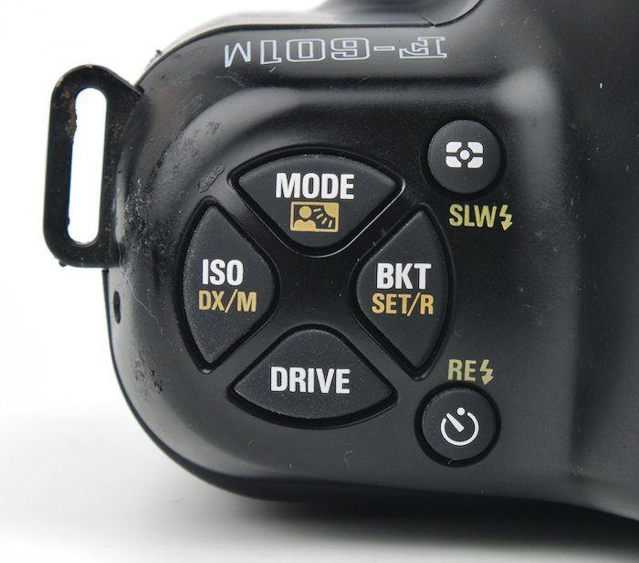 ISO Mode Bracket and Drive Controls
