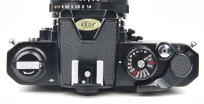 FM2 Top Photography Controls Shutter Speed ISO