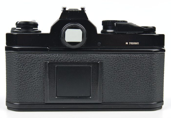 Good View of Viewfinder and Camera Back Plate