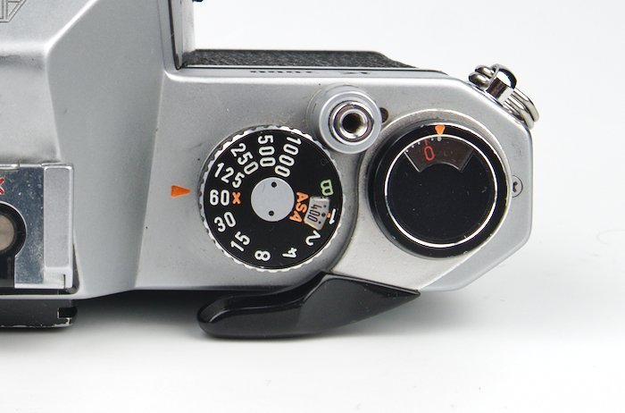 Set ISO in the ASA Dial