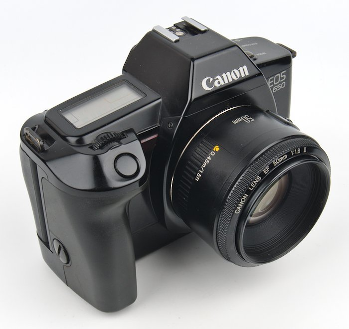 EOS 650 With 50mm f/1.8 Lens