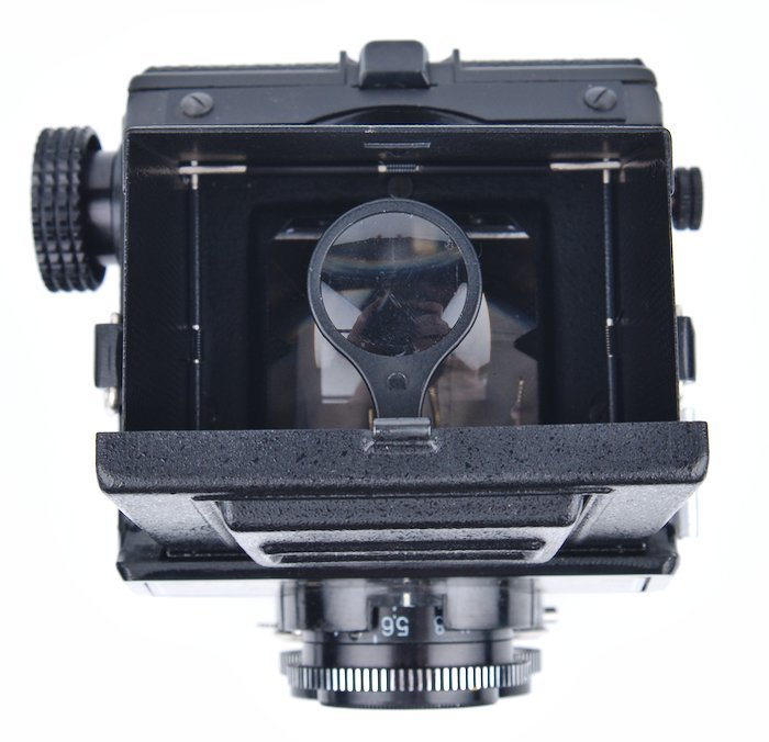 Waist Level Viewfinder with Loupe