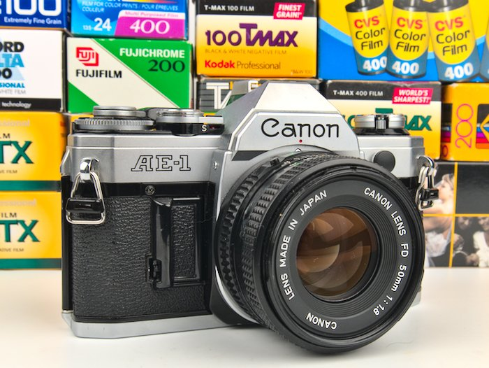 How to load film into a Canon AE-1