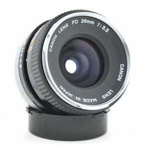 Canon FD 28mm f/3.5 Lens