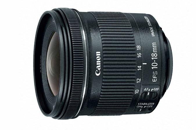 Canon EF-S 10-18mm f/2.8 IS USM Lens