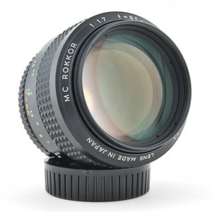Minolta MC Rokkor 85mm f/1.7 Portrait Lens