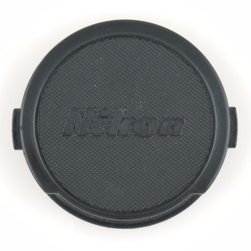 Nikon lens cap size is 52 mm for all lenses possible. Makes dealing with lens filters easier.