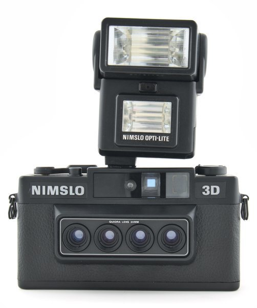 Nimslo Opti Lite Flash for 3 dimensional and stereo cameras