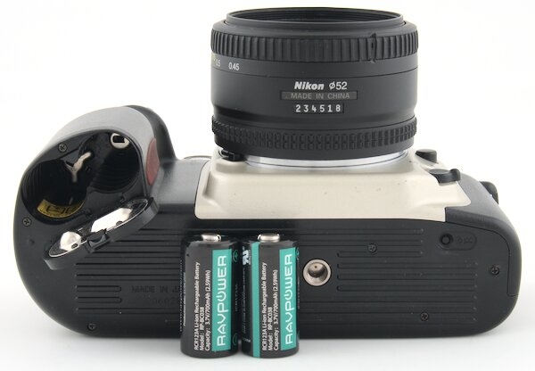 Nikon N60 CR123A Batteries
