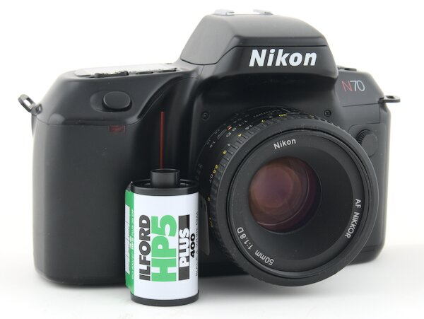 How to Load Film into the Nikon N70